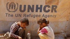 OSN se stará o 2 miliony syrských uprchlíků, polovina z nich jsou děti.