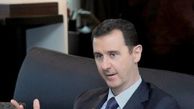 Prezident Sýrie Bašár Asad