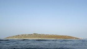 Nový ostrov má na délku asi sto metrů