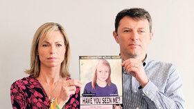 Kate a Garry McCannovi doufají, že jejich dcera stále žije.