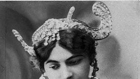 Mata Hari je nejslavnější špionkou všech dob.