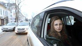Členka Pussy Riot Maria byla držena ve vězení v Nižném Novgorodu