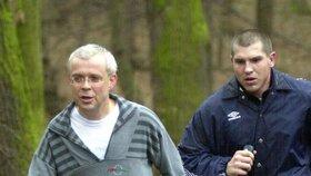 Vladimír Špidla se vydal proběhnout se do Krčského lesa. Psal se rok 2002.