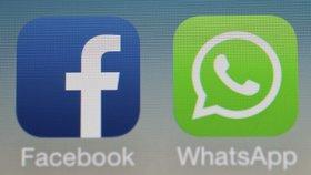 Přes WhatsApp a Facebook se šíří falešné poukazové akce (ilustrační foto).