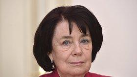Vědkyně a senátorka Eva Syková (ČSSD)