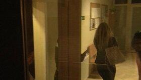 Televize Markíza zachytila Márii na policejní stanici