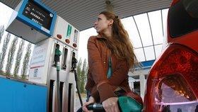 Nejlevnější paliva natankují řidiči stále v Ústeckém kraji.