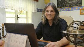 Přední český astrolog Milan Gelnar