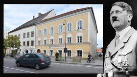 Hitlerův rodný dům chtějí zbourat.