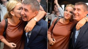 Sladká odměna pro Andreje Babiše od partnerky Moniky: ANO vyhrálo eurovolby 2014