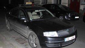 S tímto vozem první oběti jezdil vrah ještě nejméně hodinu a půl po centru Prahy.