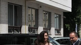 Inauguraci svého otce si nenechala ujít ani prezidentská dcera Natálie Kisková