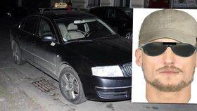 Policie zveřejnila identikit možného taxivraha.