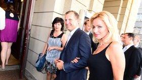 Moderátor a majitel televize Jaromír Soukup je opakovaně předmětem šetření RRTV. Na snímku s Kateřinou Brožovou.