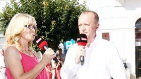 Jitka Obzinová (vlevo) na Primě skončila.