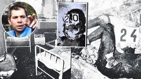 Eva (dnes už René) ze zoufalství založila požár, při kterém uhořelo 26 dívek.