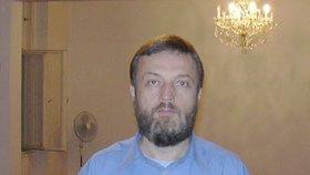 Český muslim Vladimír Sáňka (55). Donedávna byl předsedou Muslimské obce v Praze.