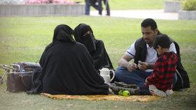 Muslimové v Teplicích.