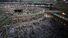 Miliony muslimů vyrazily na tradiční pouť do Mekky