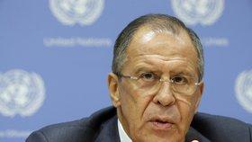 Sergej Lavrov prozradil, že Rusko předložilo USA konkrétní návrh na ukončení syrské krize.