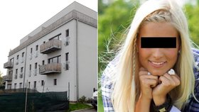 Aneta zemřela v tomto domě. Z jednoho balkónu prý volal o pomoc zakrvácený přítel její kamarádky.