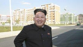 Mladý diktátor Kim se opět objevil na veřejnosti. S vycházkovou holí a úsměvem na tváři