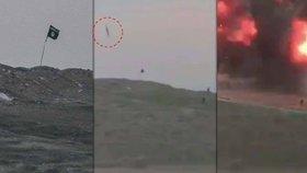 Američané sundali vlajku islamistů ze strategicky důležité hory bombou.