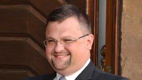 Jindřich Forejt (37), ředitel hradního protokolu.