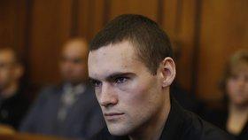 Nervózní Marek P. u soudu: Grázl z BMW srazil a zabil jedenadvacetiletou Marušku