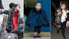 Dětské módní ikony, oblékají se lépe než hvězdy!
