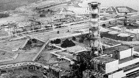 Výbuch v atomové elektrárně v Černobylu (26. dubna 1986) je považován za nejhorší jadernou katastrofu v dějinách.
