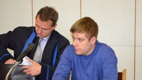 Petr Plášek (23) se verdiktu soudu včera nedočkal.