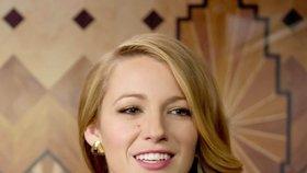 Americká herečka a modelka Blake Lively