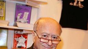 Georges Wolinski (†80), kreslíř. Jedna z ikon francouzského kresleného humoru, nejstarší oběť vrahů.