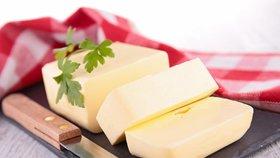 Ministerstvo děsí cena másla.