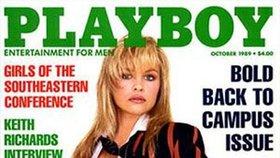 Žádná žena nebyla na titulce Playboye víckrát než Pamela.