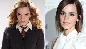 Emma Watson (24) alias Hermiona Grangerová