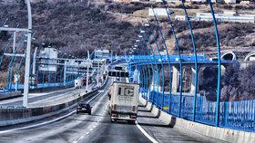 Kolem Prahy přibyly dálniční úseky bez poplatku (ilustrační foto).