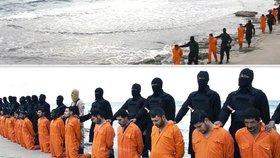 Džihádisté popravili 21 křesťanských zajatců