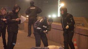 Drastické foto: Opoziční politik Němcov byl zavražděn v Moskvě přímo na ulici