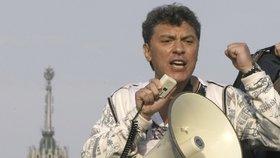 Němcov byl chladnokrevně zastřelen.