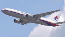 Ze zmizelého malajsijského letadla se našlo jen křídlo.
