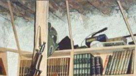 Usáma bin Ládin, kdysi nejhledanější terorista, se usmíval, i když byl zalezlý v hliněné chýši.