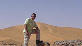 Čech unesený v Libyi Pavel Hrůza