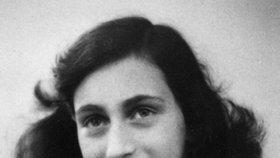 Anne Franková zemřela v koncentračním táboře.