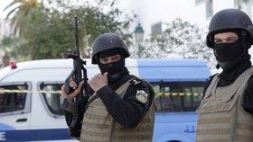 Místo teroristického útoku v centru Tunisu: Teroristé vraždili v muzeu