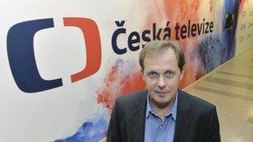 Ředitel České televize Petr Dvořák