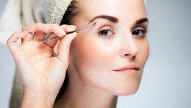 Obočí tvarujte podle typu svého obličeje, podtrhne váš vzhled.