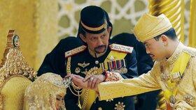 Opulentní svatba syna brunejského sultána, Brunej patří mezi nejbohatší země světa.