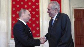 Asad a Zeman. Putin přijímá v Soči návštěvy. S českým prezidentem mají dominovat sankce.